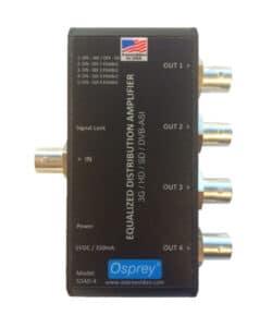Osprey SDAD-4 3G-SDI Distribution Amplifier