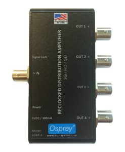 Osprey SDAR-4 3G-SDI Distribution Amplifier