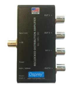Osprey SDAR-4 3G-SDI Distribution Amplifier