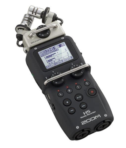 Zoom H5 Handy Audio Recorder