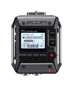 Zoom F1 Field Recorder + Shotgun Mic