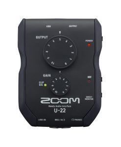 Zoom U-22 Handy Audio Interface