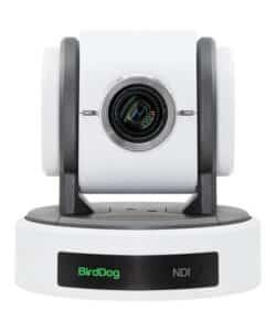 BirdDog Eyes P100W 1080p Full NDI PTZ Camera (White)