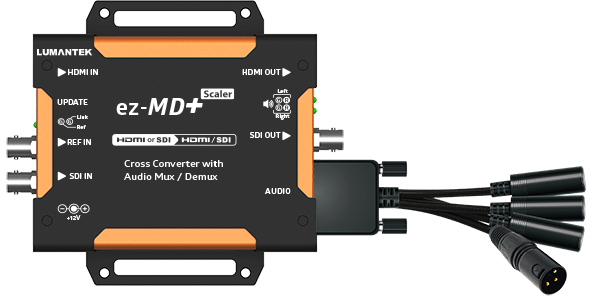 Lumantek ez-MD+ HDMI/SDI Cross Converter with Audio