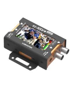 Lumantek ez-HSV+ HDMI to 3G-SDI converter with display