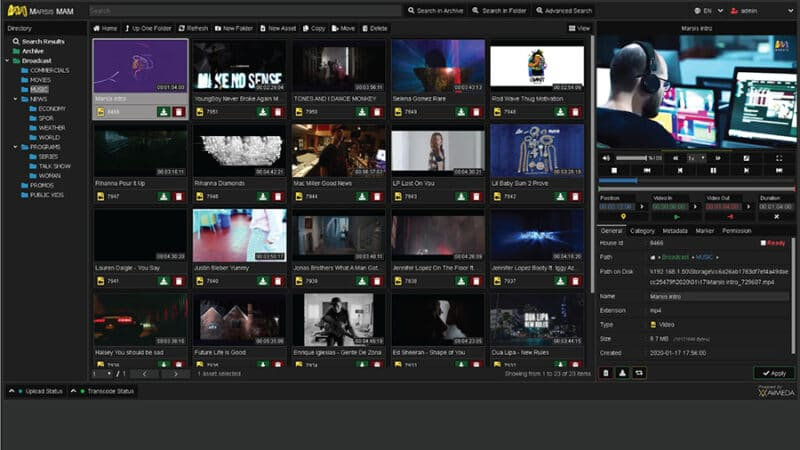 Marsis MAM A Scalable Media Asset Management