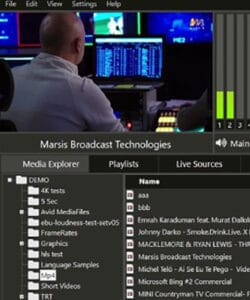 Marsis Channel In A Box Software Package has everything you need! Automated Playout, Graphic Overlay, Ingest and Streaming
