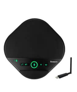 Tenveo A3000G High Quality 2.4G Wireless Conference Speakerphone with 360° Voice Pickup