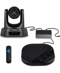 Tenveo TEVO-VA3000 All-in-One Video Conferencing System, USB PTZ Conference Room Camera