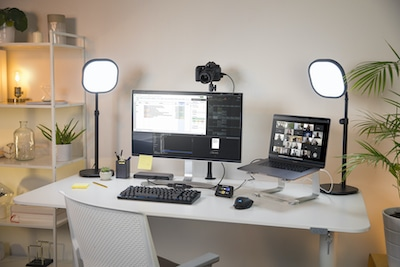 PRODUCTIVE SOLUTIONS FOR HOME OFFICE OR REMOTE WORKSPACE