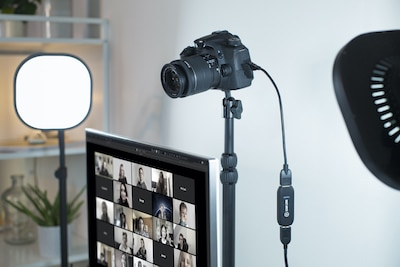 video ptz webcam camera work at home for zoom and teams