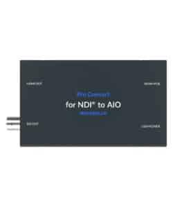 Magewell Pro convert NDI to AIO