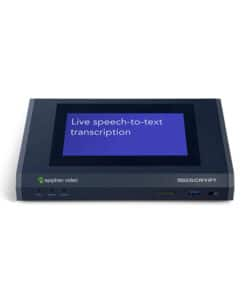 Epiphan LiveScrypt Simplified real-time automatic transcription