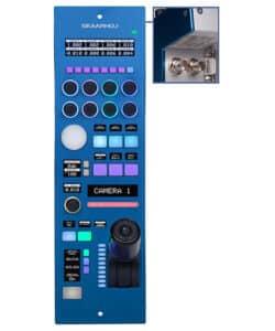 SKAARHOJ RCPv2 Remote Control Panel with Classic Iris Joystick & SDI I/O